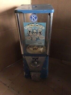 Restore Four 4 Bulk Vending Machines Gumball Candy Toy Nut Oak Aa Eagle