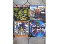 21 heavy metal vinyl records + 6 singles