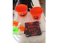 Job lot of Halloween Decorations