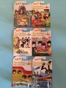 The Beatles: Hotwheels Yellow Submarine Set