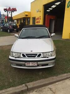 2002 Saab 9-3 Convertible=RWC+1 YEARS WARRANTY quick sale Salisbury Brisbane South West Preview