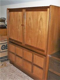 Nathan TV/Media Teak Cabinet