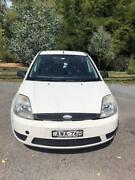 Ford Fiesta 2005 LX WP White Canberra City North Canberra Preview