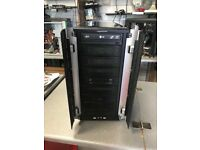 GAMING PC SPARES CASE / MAINBOARD / GRAPHICS CARD/ AMD PHENOM QUAD CORE 3.2GHZ CPU ONLY £45