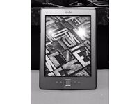 KINDLE WI-FI GREY WITH 12 MONTH WARRANTY