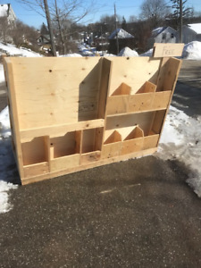 FREE - Lumber and Plywood Storage Cart