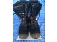 Diablo Ranger Roadster safety boots - size 10 - steel cap toe - very little wear