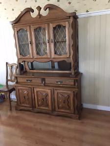 Solid Hardwood 8 Pce.Dining Room Set