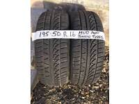 Snow master tyres 195 50 r16