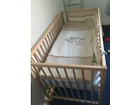 Baby bed + mattress, brand new