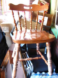 Real wood Dining or Kitchen Chair 15$/each