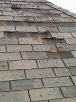 EMERGENCY ROOF REPAIRS -  MISSING SHINGLES - 7 DAYS A WEEK