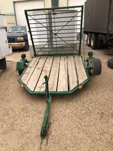 SINGLE AXLE UTILITY TRAILER FOR QUAD/MOWER
