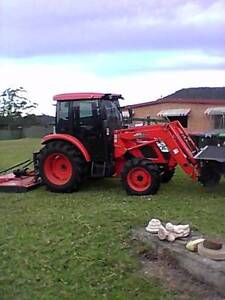 KIOTI KL601 60HP Cab Tractor with bucket only done 90 hours Lorne Port Macquarie City Preview