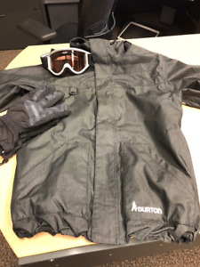 Burton Men's Snowboarding Jacket & Pant Combo - Like New!