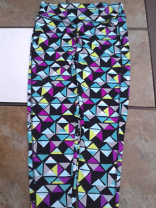 New Sporty Capri Tights- Size Small- Blowout Price