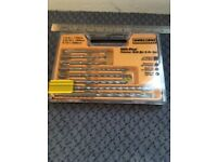 Workzone SDS hammer drill bit kit