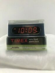 NEW T1012SL Extra Loud LED Alarm Clock Electric with Backup Battery