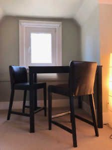IKEA ** BJURSTA Bar table + 2 bar stools - ONLY $80