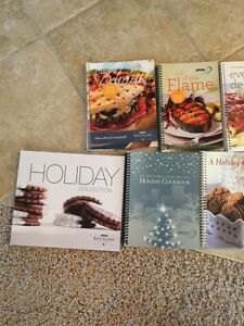 Recipe books from ATCO Blue Flame Kitchen