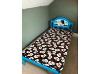 -- Bed Including Mattress --
