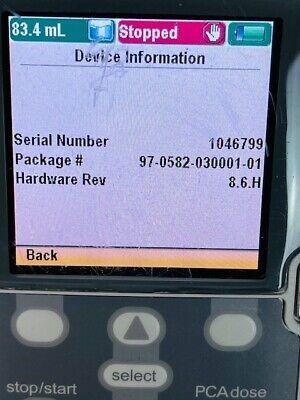 Smith Medical Cadd-solis Pca 2110 Infusion Pump W213