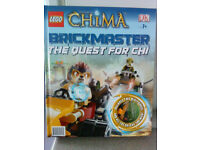Lego Legends Of Chima Brickmaster - The Quest for Chi Book