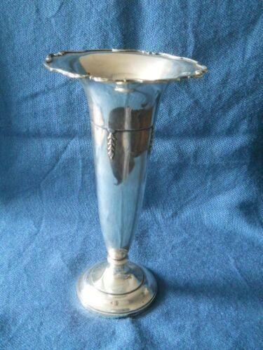 """Sterling large vase 10.5"""""""