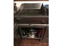 Lincat ECG6 Silverlink 600 Chargrill Power Three Phase (£850 new) used once, pristine condition