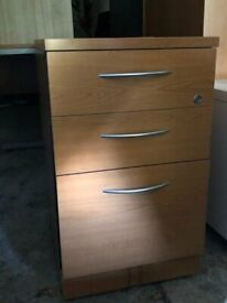 3 Drawer Office Unit