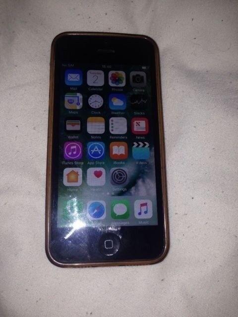 black iphone 5 on EE 16 gig