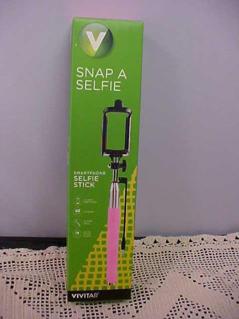 Pink Selfie Stick Vivitar Snap A Selfie Smartphone iPhone An