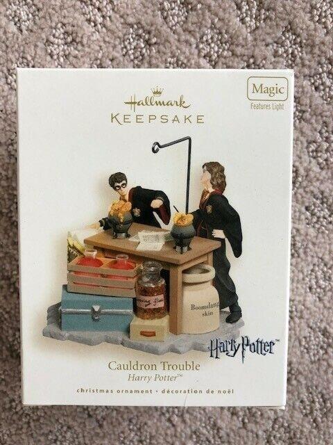 "2007 Harry Potter ""Cauldron Trouble"" Hallmark Keepsake Ornament"
