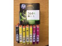 HP Ink Cartridge 364 bundle, includes 8 Cartridges