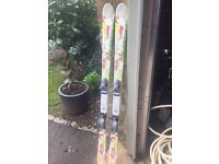 Rossignol Fun Girl Skis. With Bindings. 150cm. Excellent Condition. £50.