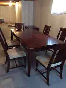 Dining Room Table & 6 Chairs St. John's Newfoundland image 4