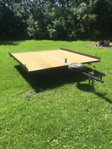 8 1/2 by 9 foot Tilt Deck Utility Trailer
