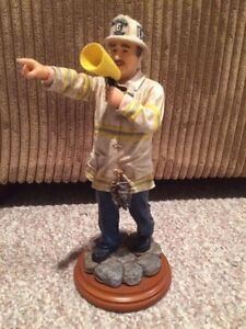 Firefighter statue collectable