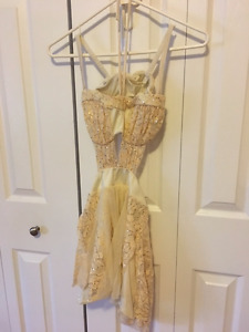 "Gorgeous Cream Lyrical Costume, Size ""teen"" (youth XL/adult S)"