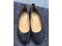 Brand New - Bocage Black Flats - Size 5