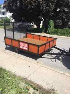 UTILITY/ CARGO TRAILER GREAT FOR LAWN EQUIP OR SNOWMOBILES
