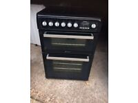£133..33 Hotpoint black ceramic electric cooker+60cm+3 months warranty for £133.33