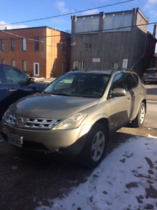 2004 Nissan Murano SUV, Crossover, as is. WANT GONE TODAY