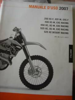 selection of KTM OWNER's MANUALS IN ITALINO Dianella Stirling Area Preview