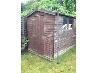 Garden shed 6x7 feet
