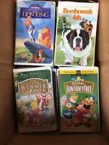 Large Collection of 50 Disney's Classics VHS Movies