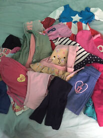 GIRLS CLOTHES BUNDLE AGED 4-5 YEARS
