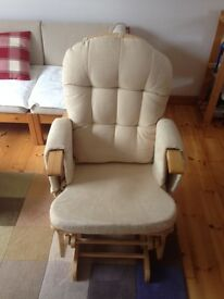 Baby feeding rocking / reclining chair