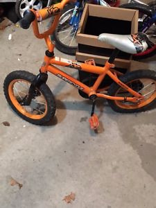 Cool, kids bike, perfect for learning without training wheels