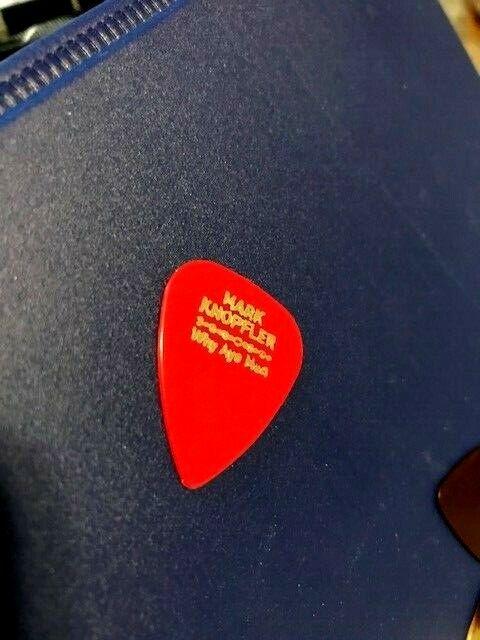 MARK KNOPFLER Guitar Pick Picks Plectrum VERY RARE DIRE STRAITS 1 - $6.49